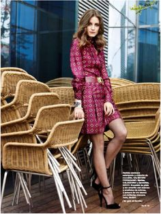 Olivia Palermo Cover and Editorial for Telva October 2012