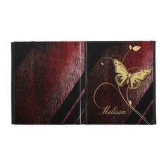 Dear Butterfly iPad Case #steampunk
