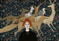 Alexandra Dvornikova ilustração