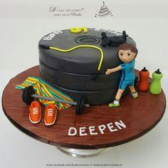 Gym Cake                                                       …