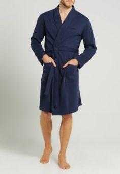 Weicher Morgenmantel für Genussmenschen! Calvin Klein Underwear SOFT SLEEP - Bademantel - blue für 104,95 € (30.11.15) versandkostenfrei bei Zalando bestellen.