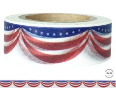 Washi Tape AMERICAN GARLAND