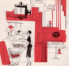 my vintage book collection (in blog form).: In the shop.... cookbooks