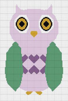 Ravelry: Owl Love pattern by Angela Davis