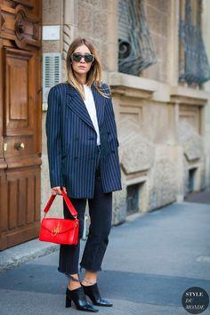 Milan SS 2017 Street Style: Chiara Capitani
