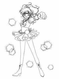 Sailor Jupiter Coloring Page Sailor Moon Pinterest 6608 Sailor