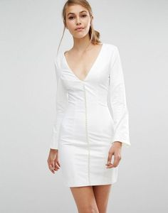 Asilio No Stone Unturned Dress in white at Asos