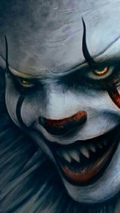 - World leading photo editor and designer!You can find Evil clowns and more on our website. - World leading photo editor and designer! Evil Clowns, Scary Clowns, Scary Wallpaper, Scary Drawings, Horror Drawing, Clown Tattoo, Horror Artwork, Pennywise The Dancing Clown, Dark Fantasy Art