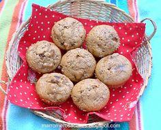 Marrom & Rosa: Receita Muffin de Maçã e Canela