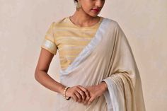Laid-Back Luxury Collection . Handloom Saree, Saree Collection, Color Combinations, Hand Weaving, Sari, Luxury, Chic, Dresses, Design