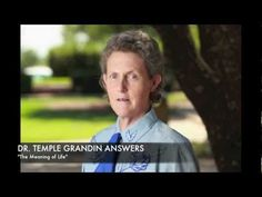 Dr. Temple Grandin shares her thoughts on the meaning of life and what it's all about. We will continue to turn her frequently asked questions into audio files for users to listen to and enjoy.