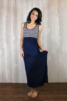 Scoop Neck Tank Maxi Dress | UOIONLINE.COM