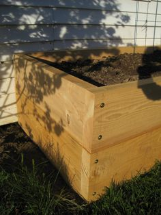 Having a raised garden bed makes veggie growing a little easier for several reasons. In a raised bed the soils warms up and dries out quick...
