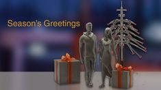 printed present - Season's greetings from Renishaw Control, Mai, Presents, Seasons, Gifts, Seasons Of The Year, Favors