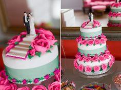 Hot Pink And Emerald Green New Zealand Wedding
