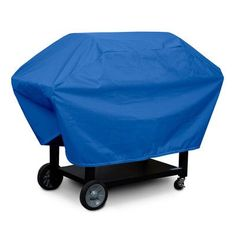 KoverRoos Weathermax 2-Shelf Barbecue Cover Color: Pacific Blue