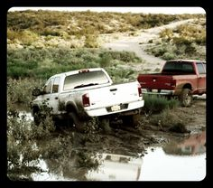 Get a little mud on the tires.