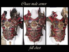Chaos male armor by Deakath.deviantart.com on @deviantART