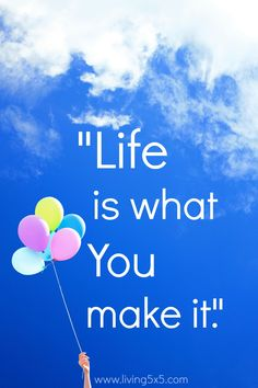 Life is what you make it. I'm a firm believer in this, and have learned a few things along the way. In self-discovery, healthy living is a happy home.