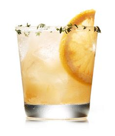 Gin, Grapefruit, and Thyme Cocktail | RealSimple.com