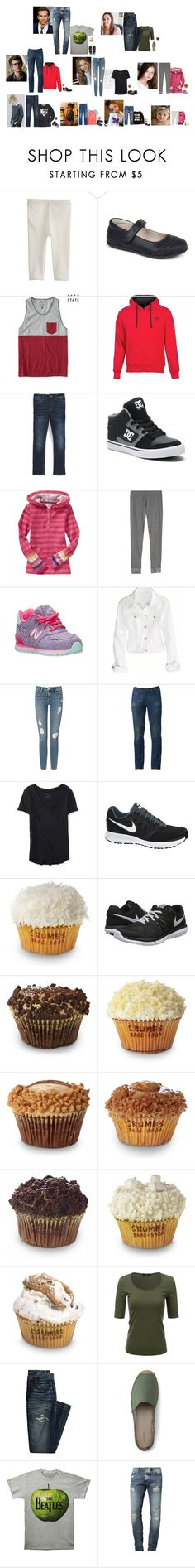 """""""The Hope family 11/19/16"""" by the-hope-family ❤ liked on Polyvore featuring Carter's, J.Crew, Converse, Old Navy, See Kai Run, Deer Stags, Aéropostale, The North Face, Appaman and DC Shoes"""
