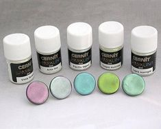 Cernit Mica Powders Duo Colours Kit  Full Set of Colour