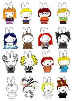 Generation Miffy 16th by likimonster.deviantart.com on @deviantART