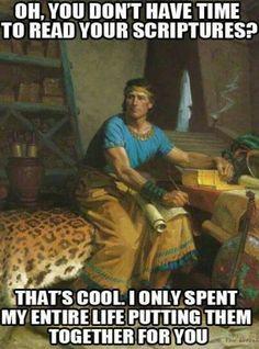 Scriptures...