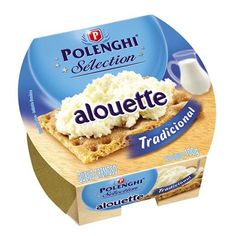 Queijo Alouette Tradicional 100g - Polenghi
