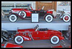 Auburn and Duesenberg pedal cars by sjb4photos, via Flickr