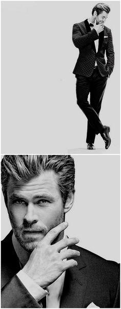 Chris Hemsworth for Prestige Hong Kong