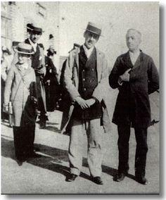 Proust a Cabourg con uno sconosciuto nel 1893.