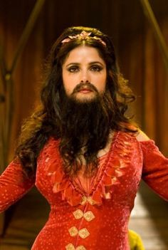 1 In this pin is a glamours bearded lady. I like how the beard in this image looks natural and not out of place. When I make my facial postiche I aim to make sure that it looks natural as it does in this image. Bearded Lady Costume, Halloween Circus, Cool Halloween Costumes, Funny Costumes, Halloween 2019, Salma Hayek, Freak Show Costumes, Circus Themed Costumes, Vintage Circus