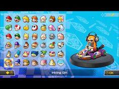 Mario Kart 8 Deluxe: Character List - YouTube