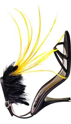 #jaune #noir ~ Colette Le Mason @}-,-;---