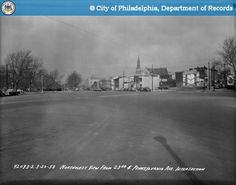 Northwest View From 23rd Street and Pennsylvania Avenue - 1953