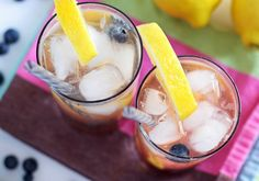 This blueberry lemon smash is the perfect rum cocktail for the end of summer! It's easy to make and refreshing - drink one on the next hot day!