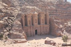 The Monestary is the lesser known big brother of the famous Treasury in the lost city of Petra, Jordan.