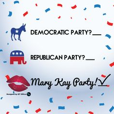 Mary Kay Party, Mary Kay Ash, Mary Kay Cosmetics, First Relationship, Republican Party, Democratic Party, Business Ideas, Fall, Life