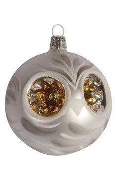 Owl Ornament Pinned by www.myowlbarn.com