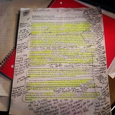 """""""Is it possible to over annotate? #hatethisclass #frankenstein #annotation #wasteofmytime"""""""