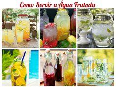 Água Frutada de Abacaxi com Hortelã ~ Senhora Inspiração! Blog
