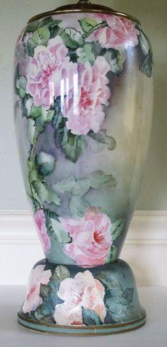 Belleek Porcelain Lamp