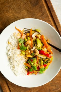 Asian Recipes, New Recipes, Vegetarian Recipes, Snack Recipes, Healthy Recipes, Ethnic Recipes, Snacks, Wok, Quick Meals