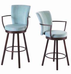 Cardin bar stool by Amisco