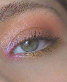 eye makeup for brown eyes . eye makeup for blue eyes . eye makeup tips . eye makeup tutorial for beginners Makeup Eye Looks, Cute Makeup, Pretty Makeup, Pink Makeup, Hair Makeup, Clown Makeup, Cheap Makeup, Glossy Makeup, Simple Makeup