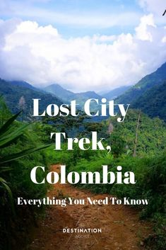 The Lost City Trek or Ciudad Perdida was something on our list before we even set foot in Colombia and as we travelled through the country. Trip To Colombia, Visit Colombia, Colombia Travel, Peru Trip, Best Places To Travel, Places To Visit, Lost City, South America Travel, Get Outdoors