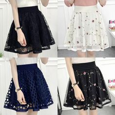 Lace Slip Skirt Extender A-Line Half Slip Extend Shirt Extenders White Color Girly Outfits, Classy Outfits, Skirt Outfits, Cool Outfits, Cute Fashion, Skirt Fashion, Fashion Dresses, Slip Skirts, Cute Skirts