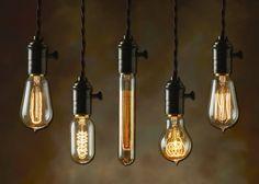 Smoke Signals.  Smoked Edison Bulbs by Bulbrte.
