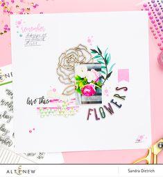Altenew | Hidden Journaling with Journal Card Builder Stamp